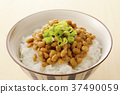 natto, fermented soybeans, food 37490059