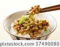 natto, fermented soybeans, food 37490080