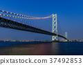 Akashi Kaikyo Bridge Night view 37492853