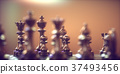Chess Pieces Gameboard 37493456