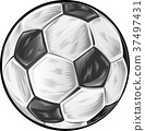 soccer football ball 37497431