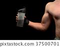 drink, male, bodybuilder 37500701
