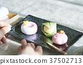 和果子 日本糖果 日式甜點 37502713