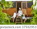 sauna, female, spa 37502953
