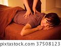 마사지 에스테틱 정체 지압사 척추 지압 여성 37508123