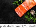 salmon, fish, fillet 37509649