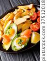 avocado, eggs, potato 37512018