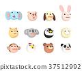 動物 人物 人臉 37512992