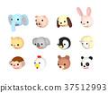 動物 人物 人臉 37512993