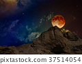 Lunar eclipse, mysterious natural phenomenon 37514054