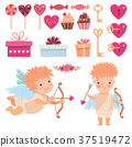 Cupids and decor  for Valentine's Day 37519472