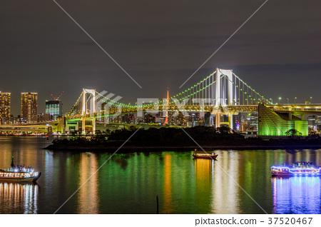 東京 台場 夜景 37520467