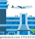 航空 機場 向量 37524214