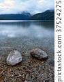 Two boulders in Redfish Lake. 37524275