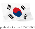 ธงชาติเกาหลี 37526063
