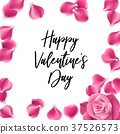 rose day vector 37526573