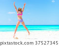 beach, child, girl 37527345