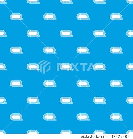 Athletic stadium pattern seamless blue 37529405