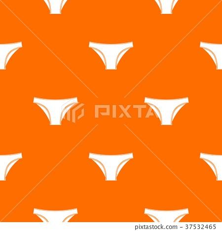 Female cotton panties pattern seamless 37532465