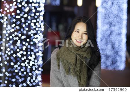 서울 명동 밤거리 37542960
