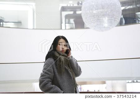 서울 명동 밤거리 37543214