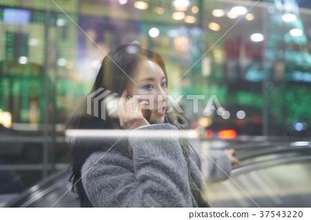 서울 명동 밤거리 37543220