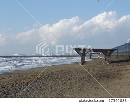 Inage Coast在刮風的日子 37545888