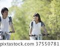 자전거를 타는 커플 37550781