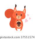 cartoon cute animals 37551574