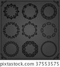 round circle frame 37553575