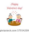 valentine, day, couple 37554209