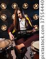 吉他 岩石 摇滚乐 37554440