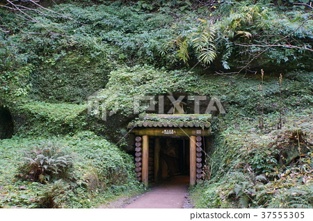 Iwami Ginzan Long Source Temple Entrance 37555305