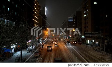 斯諾伊風景在市中心 37555659