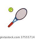 矢量 矢量图 网球 37555714