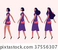 ladies walking flat 37556307