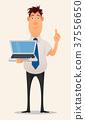 business man cartoon 37556650