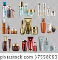 template vector cosmetics 37558093