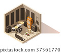 vector, isometric, studio 37561770