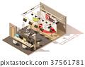 vector, isometric, studio 37561781