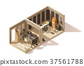vector, isometric, studio 37561788