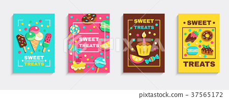 Sweet Party Treats Posters Set 37565172