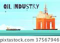 platform, industrial, oil 37567946