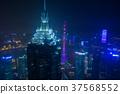 야경, 고층 빌딩, 고층 건물 37568552
