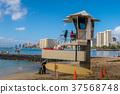 皇后海灘的瞭望塔 37568748
