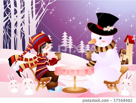 雪人 兔 少男 37568982