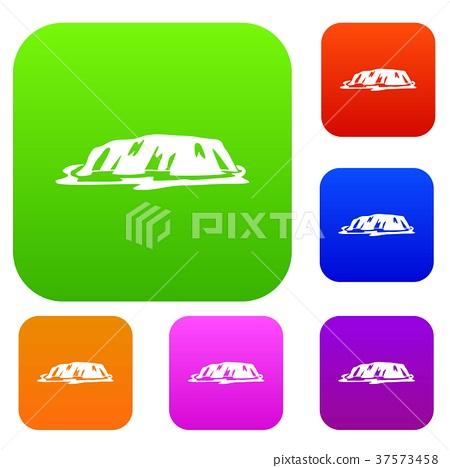 Cliff set color collection 37573458