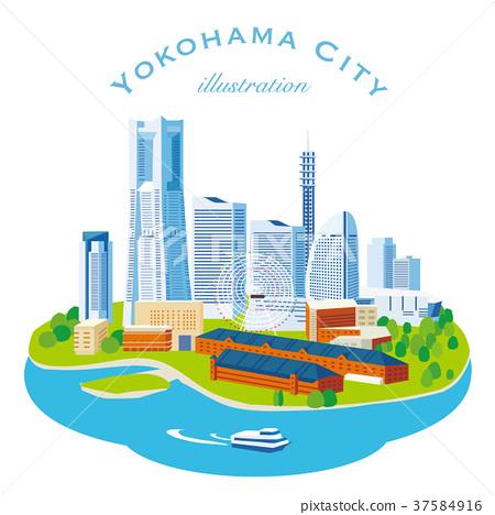 橫濱三維圖 37584916