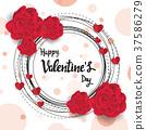 valentine happy heart 37586279