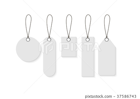 Discount special tags, Retail tag price, Vector 37586743